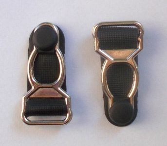Metal suspender grips 12mm