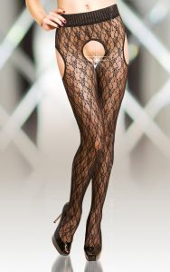Strip panty Crotchless Tights 5505 - kolory!