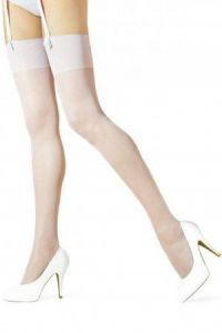 White Akte 2 stockings by Marilyn
