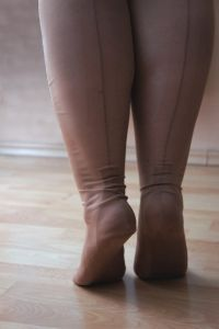 Vintage Fully Fashioned Queen Size nylons 30 den