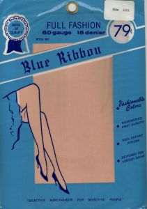 Vintage Fully Fashioned Blue Ribbon nylons